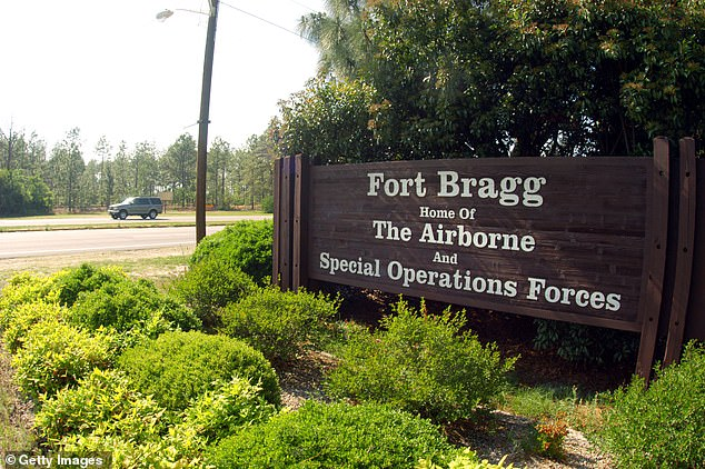 Trump has threatened to veto a military bill if it allows for the renaming of forts christiened after Confederate generals. Trump said:'Because I think that Fort Bragg, Fort Robert E. Lee, all these forts that have been named that way for a very long time. Fort Bragg is a big deal, we won two world wars...Are we going to name it after the Revered Al Sharpton?'
