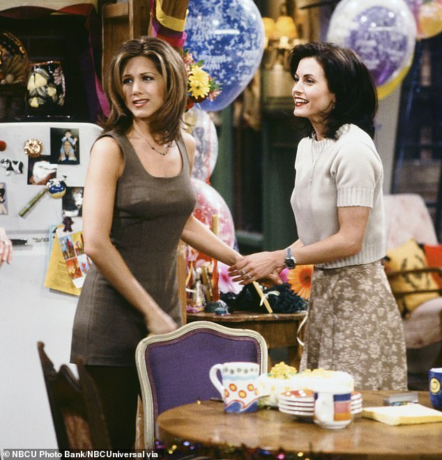 Out There For Each Other: Aniston and Cox have been close friends since they starred together on NBC's sitcom Friends, which aired from 1994 to 2004.
