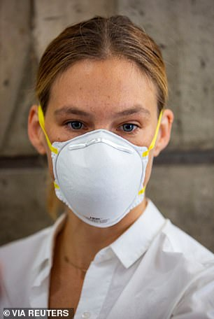 Bar Refaeli, 35, who entered the Tel Aviv courthouse with a white face mask, was convicted of four counts of tax offences earlier today