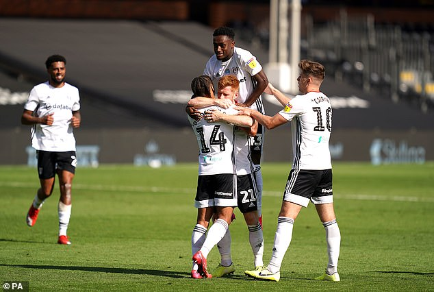 Fulham still has an outside chance of automatic promotion but needs results to follow his path