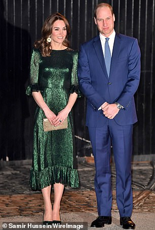 The Royal Foundation was formed in 2009 as a vessel for both Prince Harry and Prince William (with Kate, pictured) to pursue their charitable aims