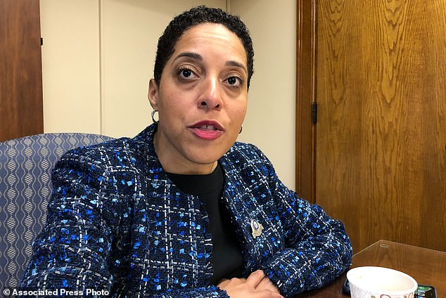 'It is illegal to wave weapons in a threatening manner - that is unlawful in the city of St. Louis,' Kim Gardner said
