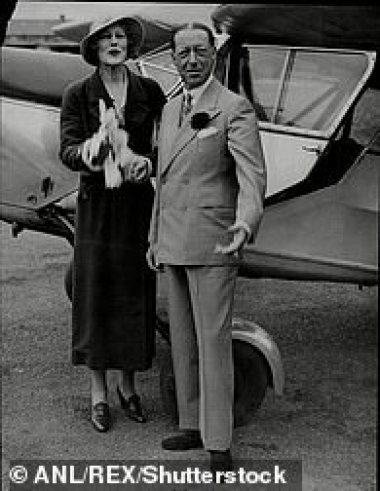 Jetting off on honeymoon with third husband Marmaduke Furness