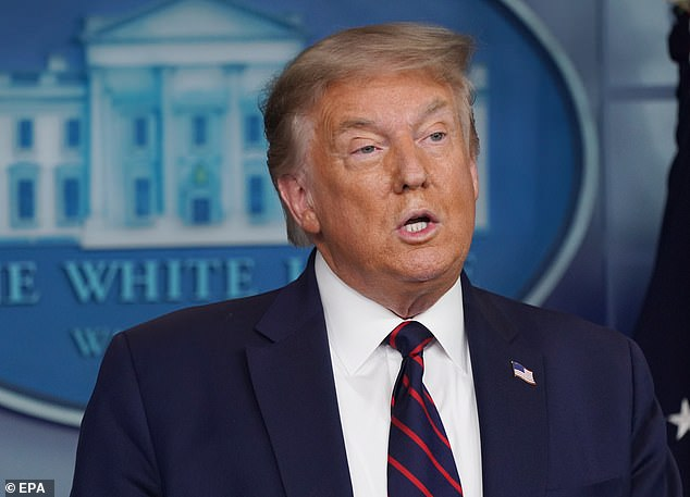 President Donald Trump admitted during his comeback coronavirus briefing Tuesday: 'It [coronavirus] will probably, unfortunately, get worse before it gets better ¿ something I don't like saying about things'