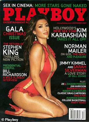 Daring: Kim's Playboy cover from 2007