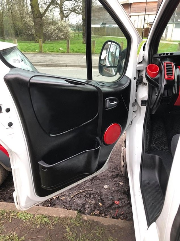 Tom Church, co-founder of LatestDeals.co.uk, said: 'Wayne's amazing van transformation just shows that you don't need to spend a fortune on revamping your car: some cheap cans of paint and some affordable car seat covers can work wonders!'