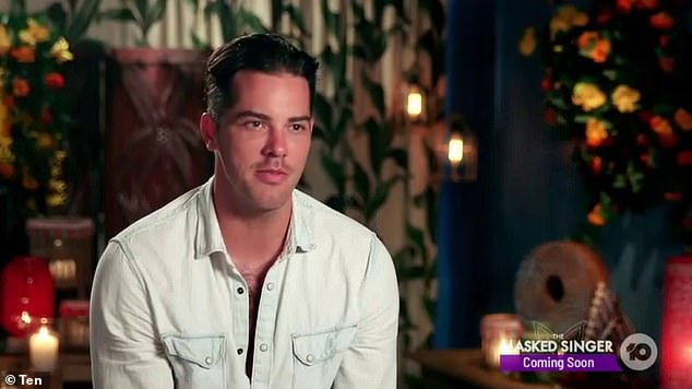 Shock exit: Last month, Jake quit Bachelor in Paradise in order to try and win Megan back.Partway through the rose ceremony, he said: 'I did find love [in Paradise last time] and, if anything, this experience has taught me that I'm still in love'