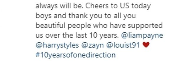 'Awesome!': Over the summer, Niall celebrated the 10th anniversary milestone while sharing a sweet message and throwback on Instagram.