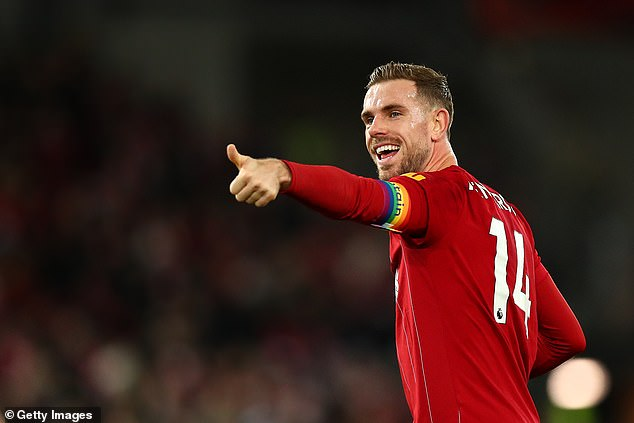 Henderson helped set up the #playerstogether charity fund for the NHS