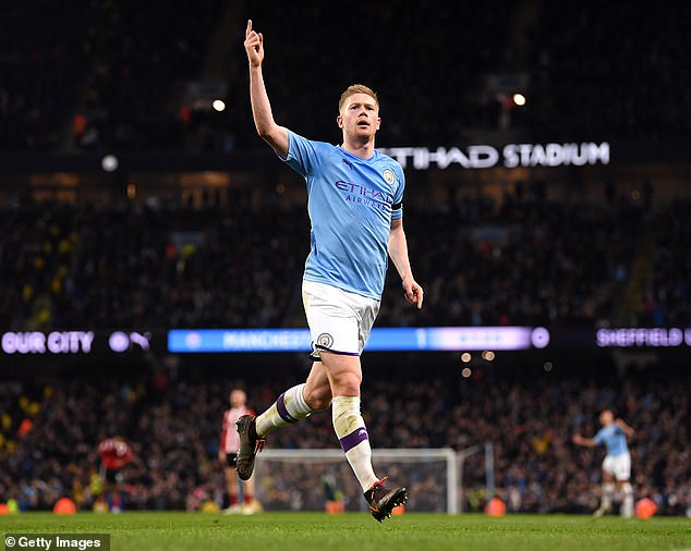 His form saw him win ahead of Manchester City's Kevin De Bruyne