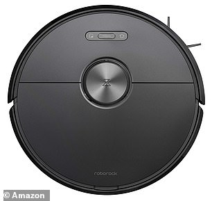 The Roborock S6 vacuum cleaner features alarge lithium-ion battery, which allows for three hours of continuous cleaning
