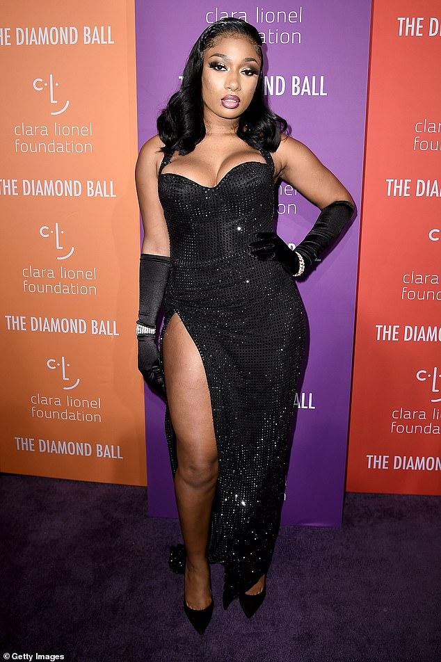 Rising star: Megan seen in New York City back in September