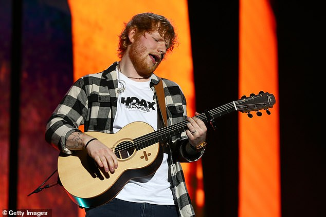 Emotional: Ed paid tribute to his grandmother in the song Supermarket Flowers, which he performed at the 2018 BRIT Awards after it featured on his album ÷