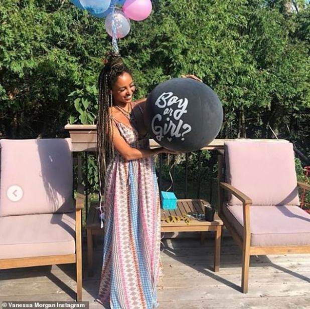 It's a boy:Vanessa Morgan is expecting her first child, a son, with Michael Kopech