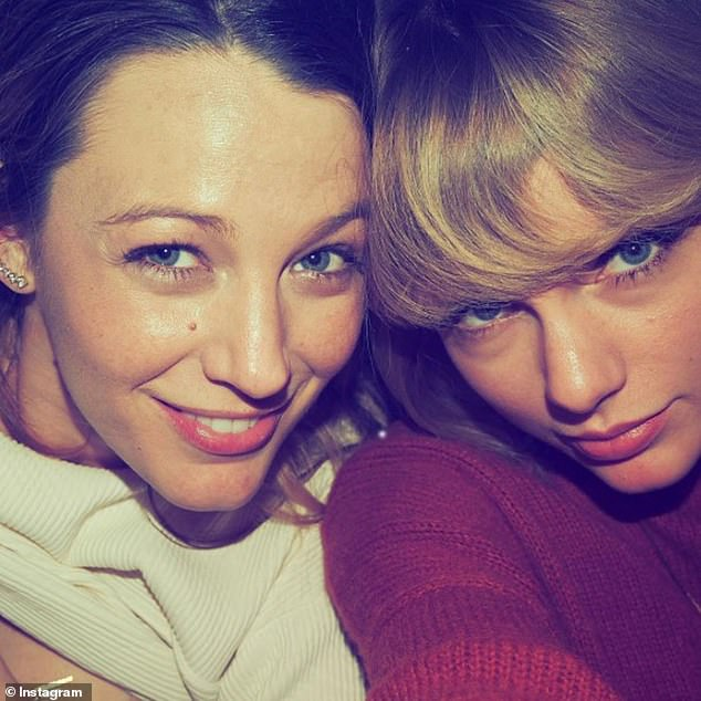 Best buds:Taylor and Blake have been friends since around 2015, so it is no wonder that the Grammy Award-winner would pay homage to the actress' growing family; Blake and Taylor pictured on Instagram in 2016
