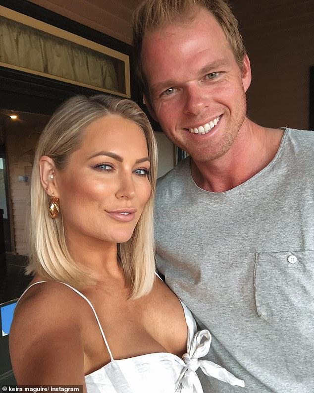 It's over! Keira appeared on the first season of Bachelor in Paradise in 2018. Her relationship with Jarrod Woodgate (pictured) was the biggest success story to come out of Bachelor In Paradise