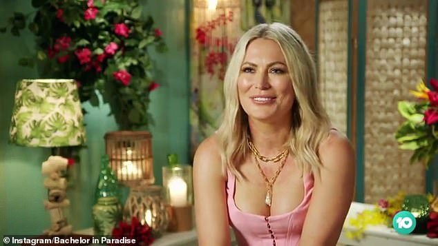 She's back! Keira Maguire (pictured) sent fans into a frenzy as she made a dramatic entrance on Bachelor In Paradise on Sunday