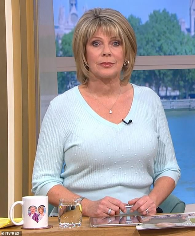 Ruth Langsford has sent a message of condolence and support to Dr Alex George after he annouced the death of his younger brother, Llyr