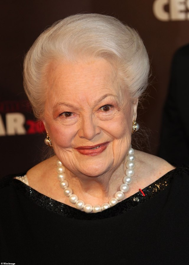 RIP: Gone With the Wind actress (pictured above in 2011 at the 36th Cesar Awards in Paris) ishas died aged 104
