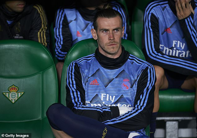 Gareth Bale has endured a frustrating season on the sidelines, though Madrid were champions