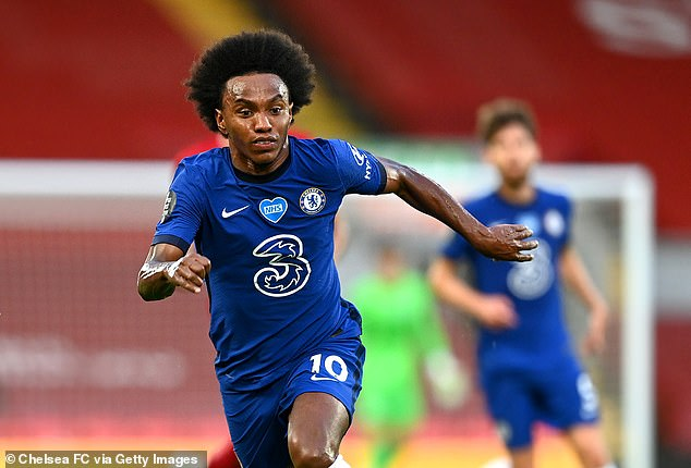 Chelsea are said to have made a breakthrough in negotiations for a new contract with Willian