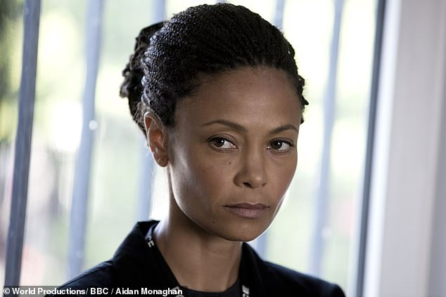 Power of the stars: Jed says BBC executives are still in doubt about his ability, despite the crime show gaining legions of fans and featuring notable debuts [such as Thandie Newton, pictured]