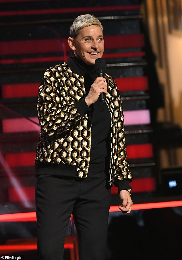 Bad Rep: Numerous reports from former employees were released earlier this year claiming that Ellen had been unfriendly and that crew members had been warned not to speak to the host or make contact visual.