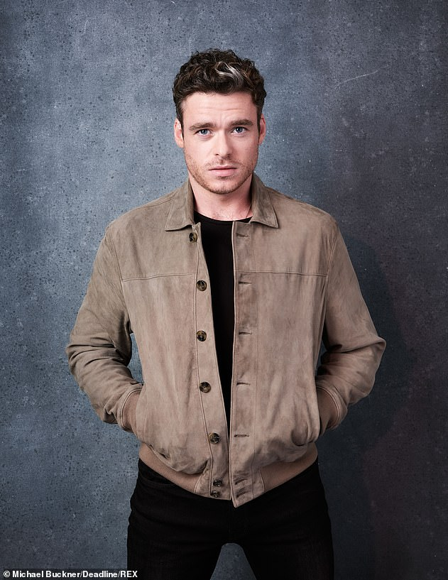 Another success: The current head of the theater, Piers Wenger, defended Bodyguard, which was later praised by fans around the world. [pictured is star Richard Madden]