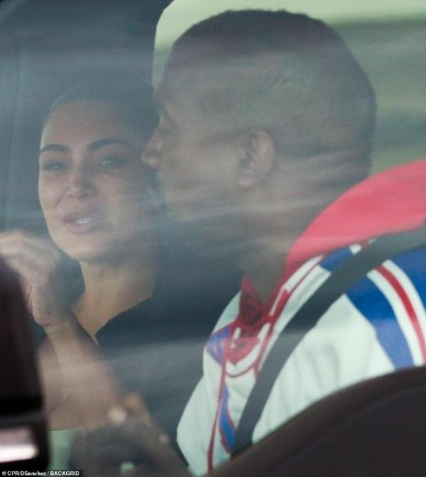 Seeking forgiveness: Kanye issued a public apology to Kim last week after airing details about their private life