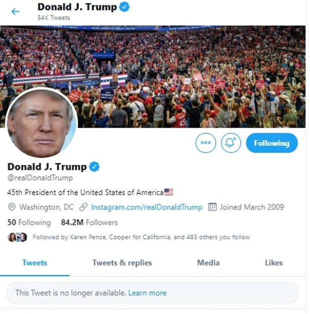 President Donald Trump went into a Twitter frenzy on Monday night, sharing a condemnation of the post praising the controversial drug hydroxychloroquine only for the treatment of COVID-19 for some posts that have been removed for covovirus misinformation.