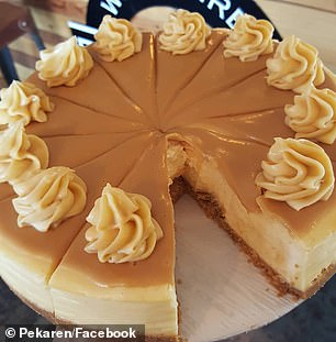 The cake can be made by using few ingredients including biscuit crumbs, butter, cream cheese, condensed milk and Cadbury Caramilk chocolate