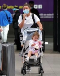 Sam Faiers faces 10-day quarantine as she and partner Paul Knightley return to the UK from Spain