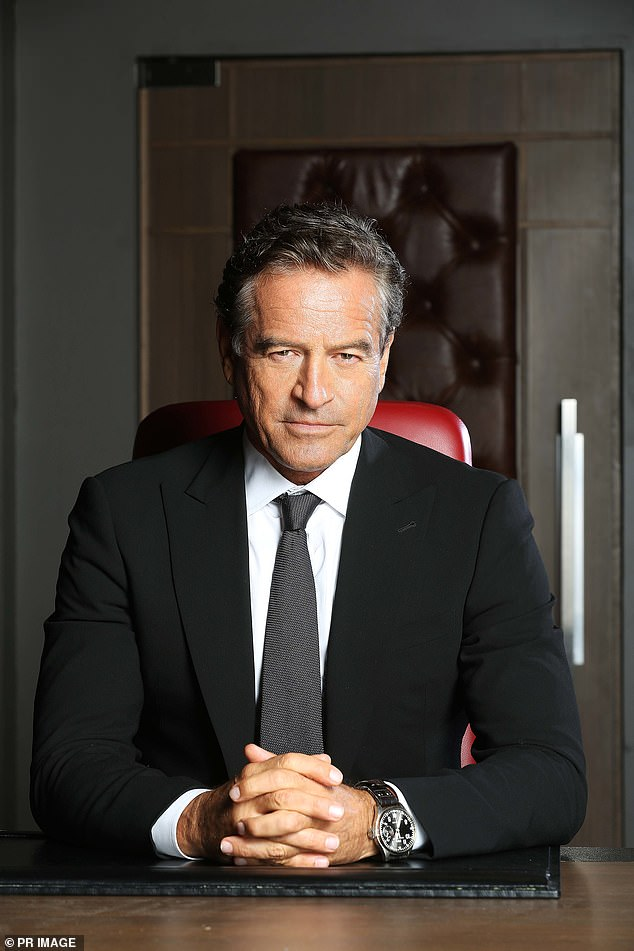 The way it was: Former Celebrity Apprentice 'boss' Mark Bouris (pictured) will not be returning to the franchise, as the network wants fresh talent