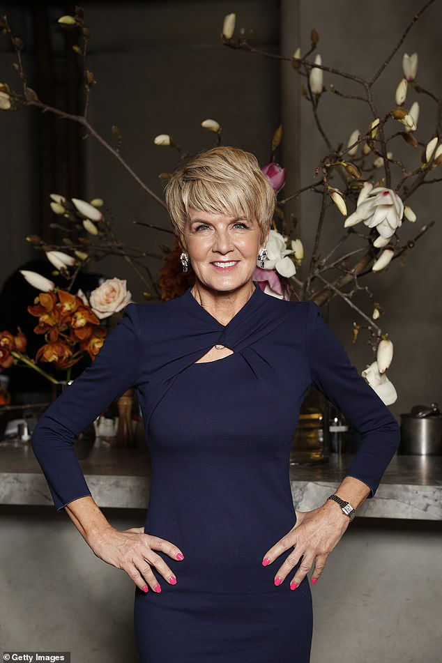 New gig: Ex-Foreign Affairs Minister, Julie Bishop is on Channel Nine's wish-list to appear on The Celebrity Apprentice Australia, but most likely for the advisor role