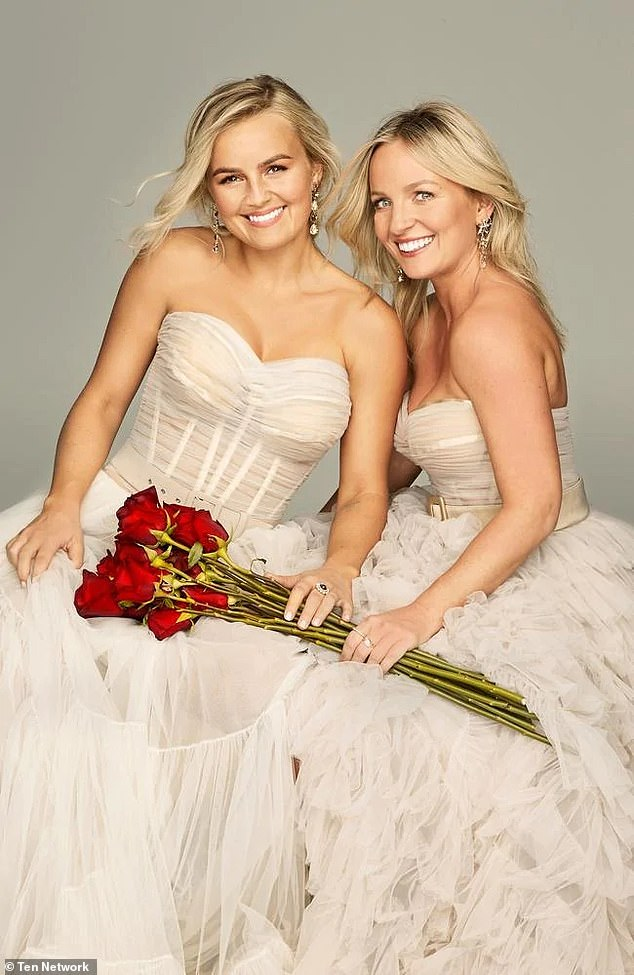 Is this worth the risk? The Bachelorette's Elly and Becky Miles: How having two female leads could actually work... and why the new format could end in disaster. Pictured: Elly and Becky Miles