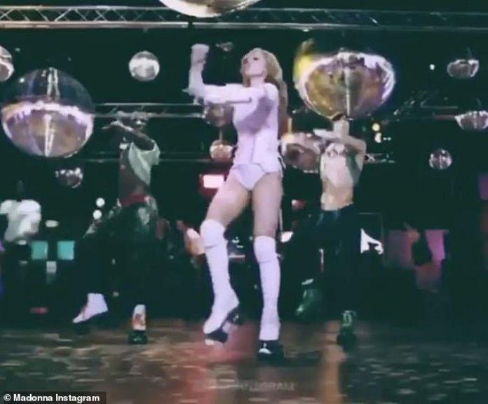 Patinaje: Madonna todavía se está recuperando después de sufrir una lesión en la rodilla en la gira en febrero, antes de que el virus COVID-19 comenzara a propagarse más rápidamente