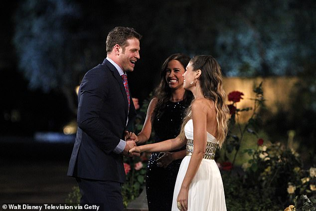 Battle of the Bachelorettes: Baitlyn BristoweNilsson, a 28-year-old waitress, were announced as duel Bachelorettes before the show - before being pitted against each other in the first episode (pictured)