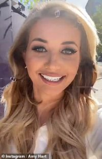 Love Island's Amy Hart unveils the results of her £100,000 teeth makeover after being trolled