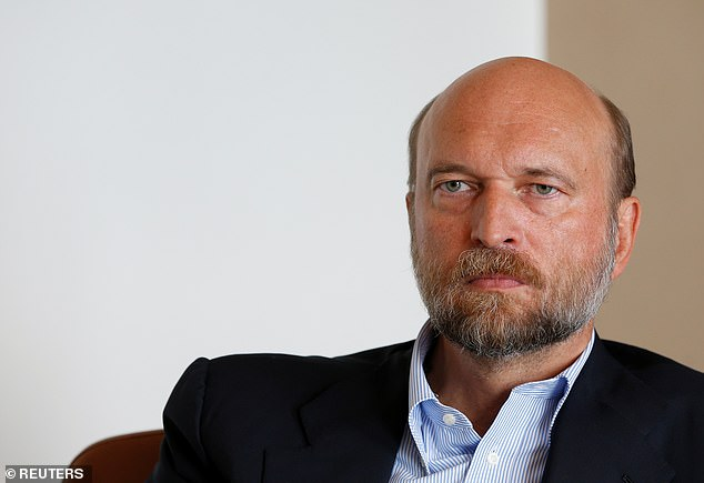 Former Kremlin adviser Sergei Pugachev, pictured above, said Putin had been grappling with the question of succession since at least 2006