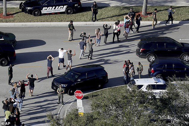 The shooting left 17 people dead and wounded 17 others at Marjory Stoneman Douglas High School on Valentine's Day 2018