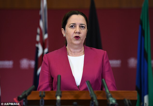 During the press conference on Thursday, Premier Annastacia Palaszczuk said the new cases confirmed they made the right decision in closing the borders
