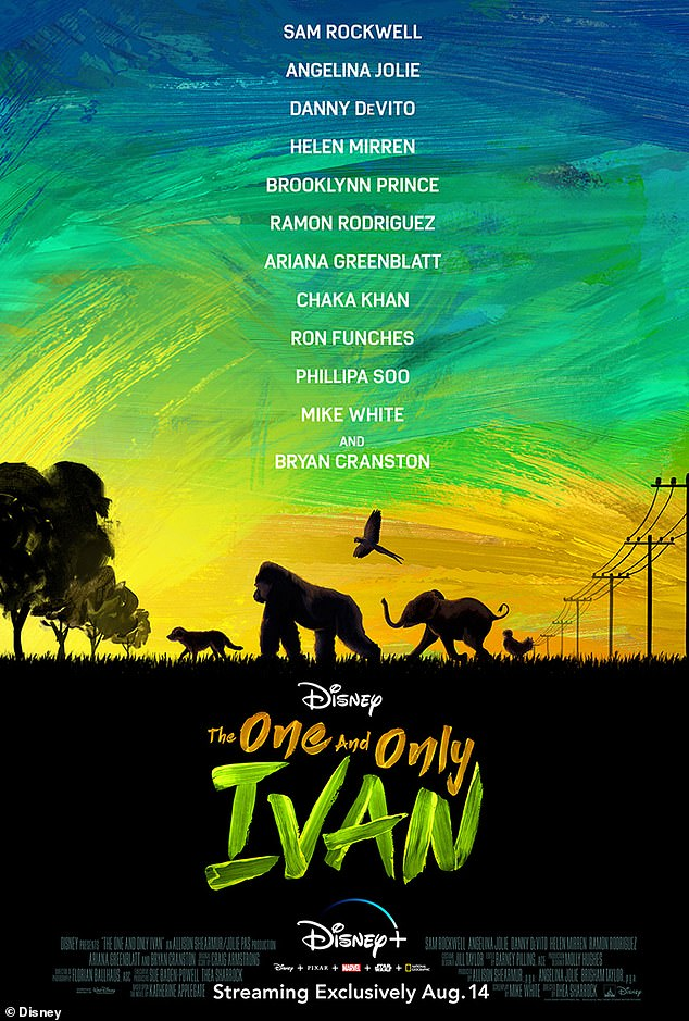 New movie: Cranston has already completed filming of Disney film The One And Only Ivan before pandemic shutdowns start