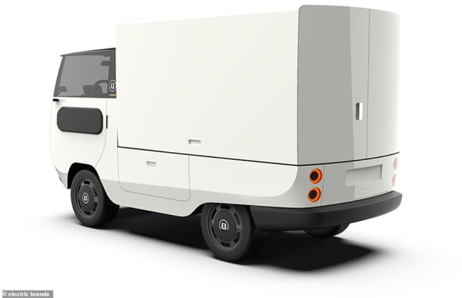 The Box option, which may suit a new era of white van deliveries when it's released in the UK next year - for at least £14,000