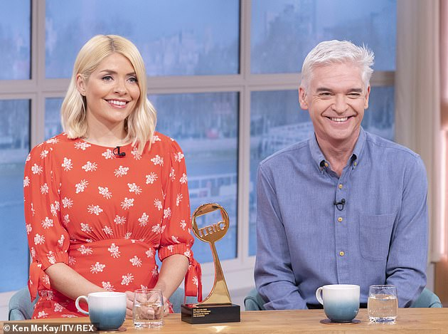 'Thank you': Holly thanked This Morning viewers for sticking around through 'this new way of broadcasting' before bidding them farewell ahead of her summer vacation last month.