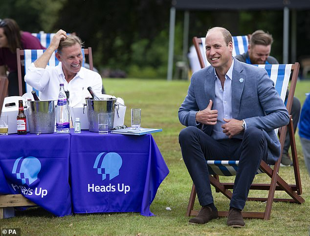 The Duke of Cambridge has said he wants football clubs to 'aspire to be much better' on the issue of mental health in the future