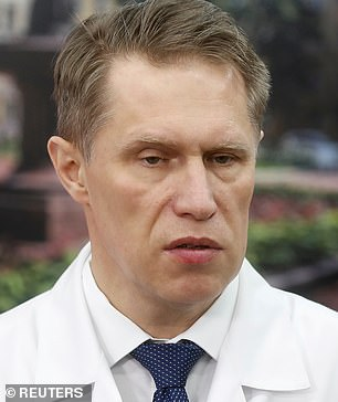 Health Minister Mikhail Murashko said doctors and teachers would receive vaccine first