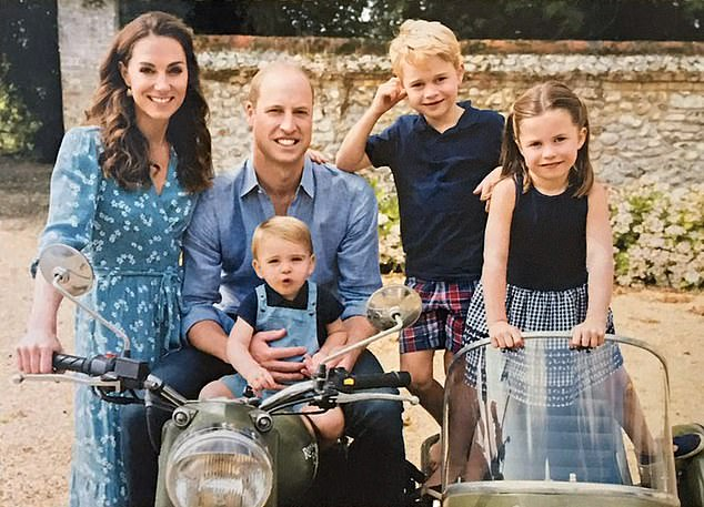 The Duke and Duchess of Cambridge have chosen to take their children on holiday (above) to one of William's favorite family destinations, to help the UK travel industry