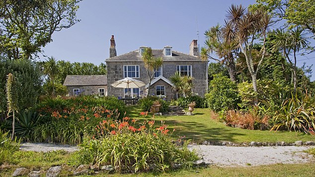 Prince William and Kate spent the week on tiny Tresco, in the Isles of Scilly, at Dolphin House (above), a beautiful six-bedroom property owned by Prince Charles