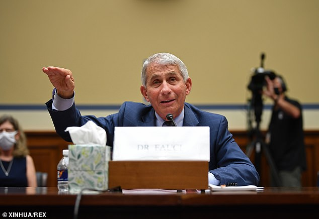 During Friday's House committee hearing, Fauci explained why the shutdown didn't have as much of an impact as desired in comparison to other countries