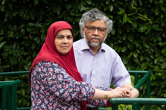 Doctors Aliya and Rashid Abassi, who had an altercation with hospital staff and police officers, brought about by a dispute over the care of their daughter Zainab. Zainab had a life-limiting condition and died in May 2019